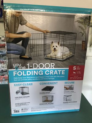 Folding dog crate Small for Sale in Oceanside, CA