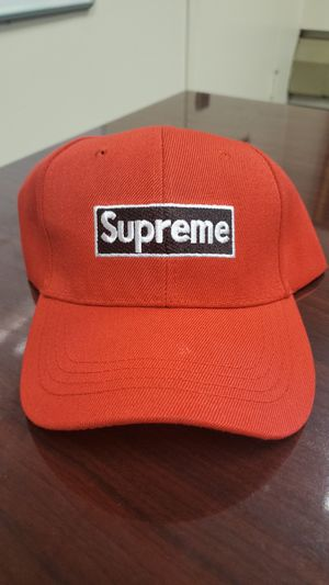 Red Supreme Adjustable Hat for Sale in Washington, DC