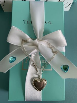 Tiffany & Co heart pendant necklaces for Sale in Gaithersburg, MD