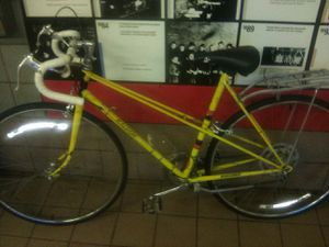 Vintage Raleigh Record Yellow Touring Road Bicycle for Sale in Boston, MA