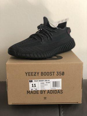 Size 11 Black non reflective Yeezy 350 v2 ds brand new adidas Kanye Jordan supreme Nike for Sale in Orlando, FL