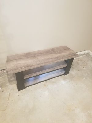 TV Stand - Black and Grey for Sale in Anaheim, CA