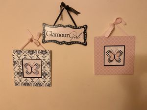 Wall Decor for Girls Room for Sale in Cockeysville, MD