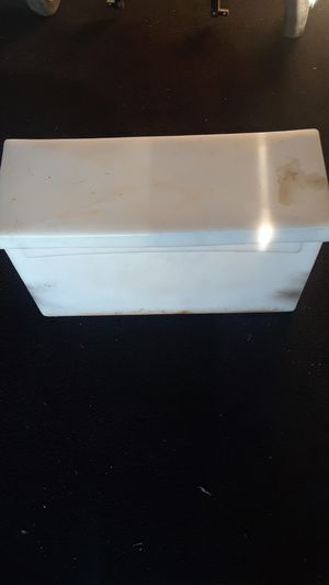 RV 6v battery box hold s two for Sale in Redmond, OR