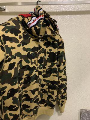Bape camo shark hoodie for Sale in Garden Grove, CA