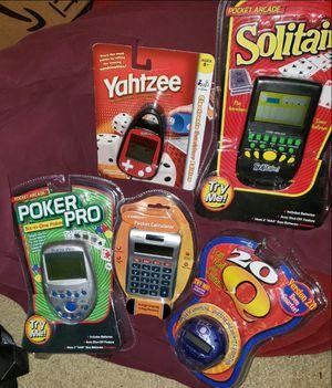 Assortment of handgames for Sale in Sully Station, VA