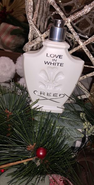 Creed 'Love In White' Fragrance 2.5 oz Retail $380 80% full for Sale in Rocky River, OH