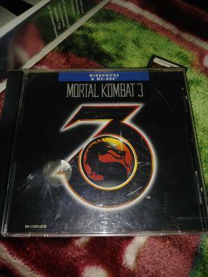 Computer game MK3 for Sale in Modesto, CA