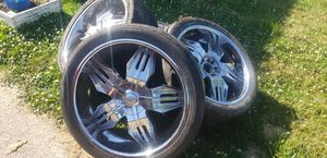 24 inch Rims for Sale in Lorain, OH