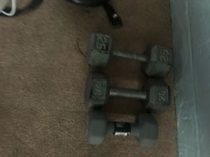 Iron Dumbbells for Sale in Cheverly, MD