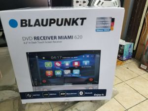 Double din available by blaickpont. DVD player CD player and radio stations. for Sale in Lynwood, CA