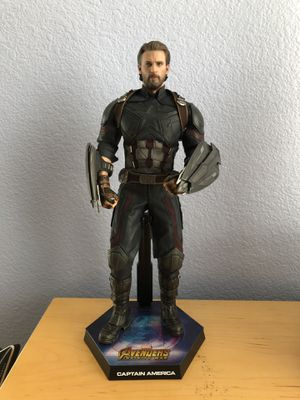 Hot Toys Captain America (Avengers: Infinity War) Movie Promo Edition for Sale in Santa Clara, CA