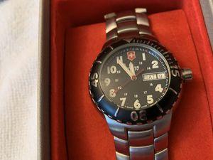 Swiss Army Silver Watch Victorinox for Sale in East Longmeadow, MA