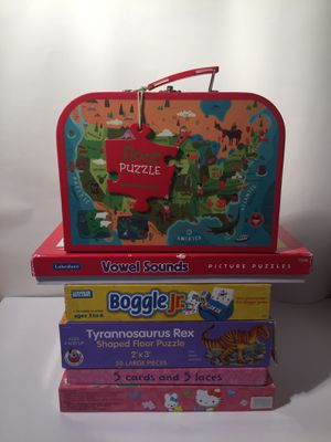 Kids Puzzles & Games set for Sale in Dickinson, TX