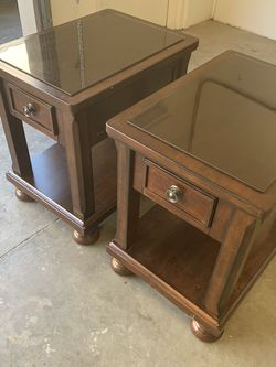 Matchingg End Tables By Ashley for Sale in Orange,  CA