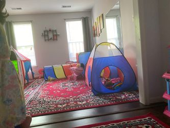 Tunnel tent for $46 for Sale in Herndon,  VA