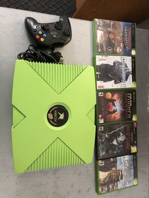 Xbox Mountain Dew - Limited edition - with 5 games for Sale in Virginia Beach, VA