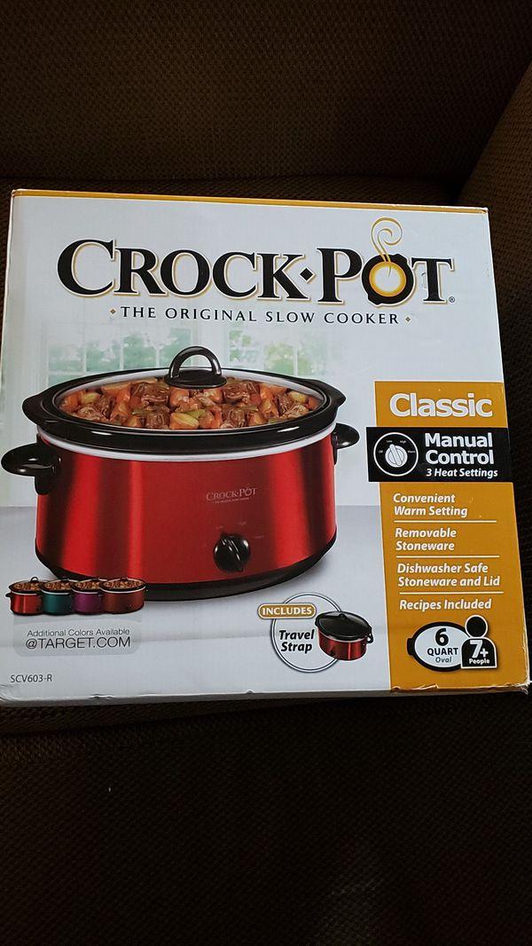 Crock pot original slow cooker