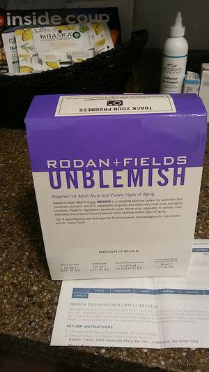 Beand new Rodan +Fields Unblemish kit expires 09/21 for Sale in Phoenix, AZ