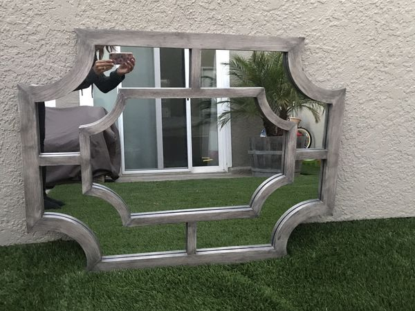 "30"" by 40"" wall mirror"