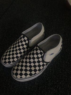 Vans classic checkerboard slip ons for Sale in Lansing, MI