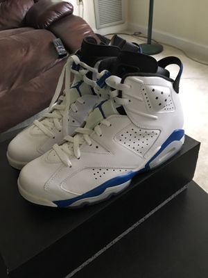 Sport Blue Jordan 6 - Size 9 - New/unworn for Sale in Arlington, VA