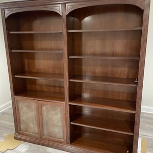 Red Wood Book Case for Sale in Rockville, MD