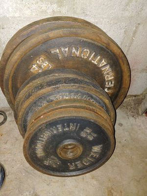 198 lbs olympic weights for Sale in Phoenix, AZ