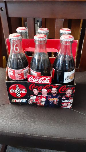6 pack Cocacola Nascar collecters set. (1996). for Sale in Wichita, KS