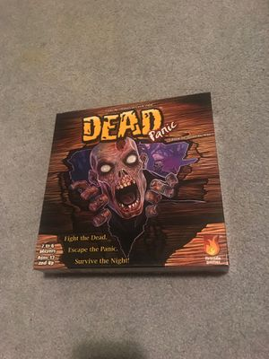 Dead panic board game for Sale in Graham, WA