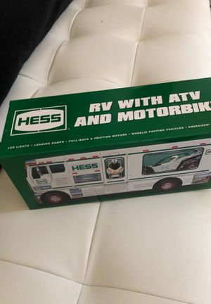 Hess RV with atv and motorbike new for Sale in Norwalk, CT