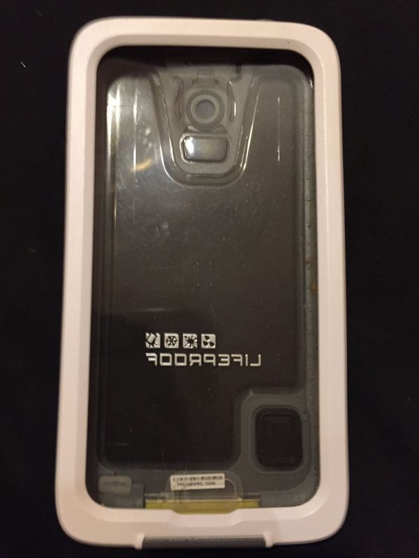 Samsung Galaxy S 5 white life proof protective case new $12