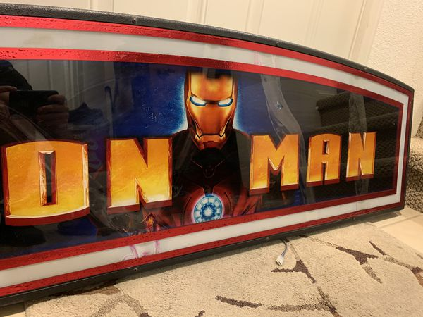 Official Marvel Iron Man Slot Machine Top