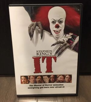 Stephen King's IT DVD for Sale in Winter Garden, FL