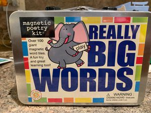 Big magnetic words- never opened for Sale in Naperville, IL