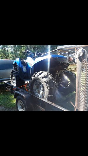 BIG LIFTED BRUTE FORCE 750 2007 RUNS DRIVES MAY TRADE GSXR 1000 for Sale in Greensboro, NC
