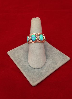 Fire opal ring for Sale in Naples, FL