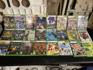 XBOX 360 GAME BUNDLE 24 Teen and E rated for Sale in Hoodsport, WA