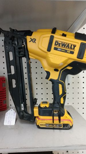 DeWalt finish cordless nail gun for Sale in Houston, TX