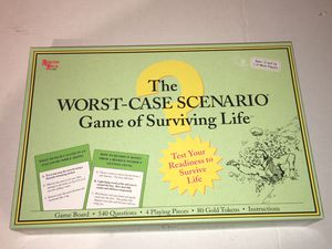 The WORST-CASE SCENARIO Game Of Surviving Life Board Game COMPLETE for Sale in Raleigh, NC