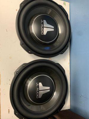 480$ two JL audio 12tw3 for Sale in Glendale, AZ