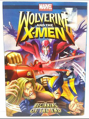 Wolverine And The X-men Begining Of End dvd X-Men cartoons Wolverine for Sale in Miramar, FL
