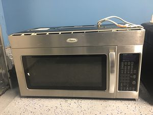 Whirlpool Microwave- over the range- For Spare for Sale in Broadlands, VA