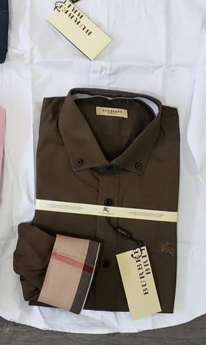 New men's Burberry dress shirt xl for Sale in Bakersfield, CA