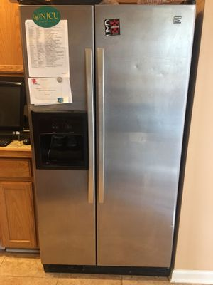 Kenmore Stainless Steel Refrigerator and Freezer for Sale in Germantown, MD