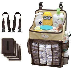 Baby Diaper Stacker & Changing Table Organizer - Hard Plastic Body Prevent from Sagging - Hanging Caddy for Newborns fit Every Crib - Diaper Holder a for Sale in Santa Ana, CA