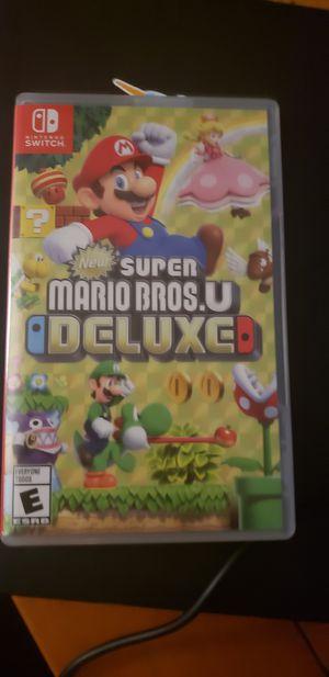 Mario U Deluxe switch for Sale in Ocoee, FL
