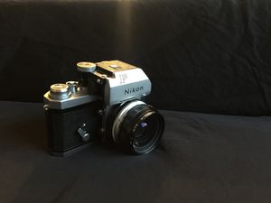 2 Vintage Nikon Film Cameras (Nikon F and Nikon FG) for Sale in Plant City, FL
