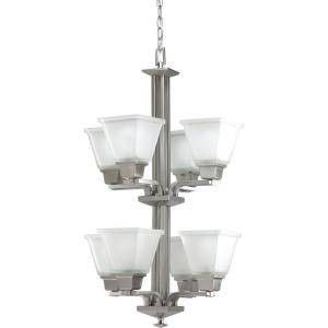 NEW Brushed Nickel Beautiful Elegant Chandelier for Sale in Sully Station, VA