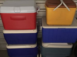 Assorted Coolers for Sale in Detroit, MI